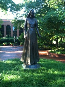 Relief Society Monument Park--The Virtuous Woman