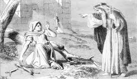 Elijah And The Widow Woman http://www.ldswomenofgod.com/?page_id=4673